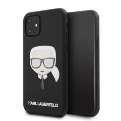 Karl Lagerfeld Apple iPhone 11 Noir Back cover coque KLHCN61GLBK
