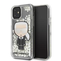 Karl Lagerfeld Apple iPhone 11 Transparent Back cover coque KLHCN61GLGIRKL