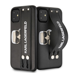 Apple iPhone 11 Back cover case KLHCN61HA2BK Black for iPhone 11 Hand Strap