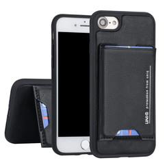 Apple iPhone 7-8 UNIQ Accessory Schwarz Titulaire de la carte Noir - 2 positions d'observation