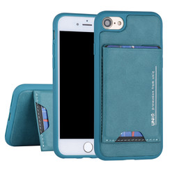 Apple iPhone 7-8 Back cover case Card holder Green for iPhone 7-8 2 Viewing Positions