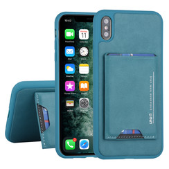Apple iPhone Xs Max Back cover case Card holder Green for iPhone Xs Max 2 Viewing Positions