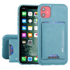 UNIQ Accessory Apple iPhone 11 Groen Backcover hoesje Pasjeshouder