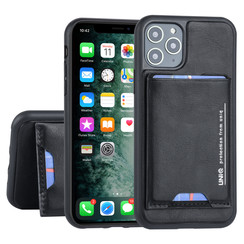 Apple iPhone 11 Pro Back cover case Card holder Black for iPhone 11 Pro 2 Viewing Positions