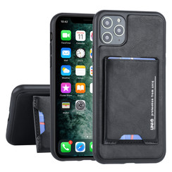Apple iPhone 11 Pro Max Back cover case Card holder Black for iPhone 11 Pro Max 2 Viewing Positions