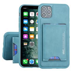 UNIQ Accessory Apple iPhone 11 Pro Max Groen Backcover hoesje Pasjeshouder