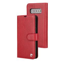 Pierre Cardin Rood Booktype hoesje Samsung Galaxy S10