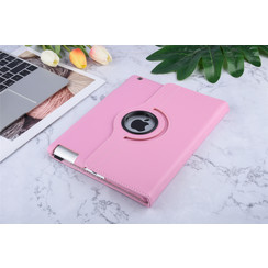 Apple iPad 2-3-4 Roze Book Case Tablethoes Smart Case