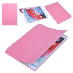 Apple iPad 10.2 2019 Roze Book Case Tablethoes Smart Case