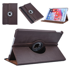 Apple iPad 10.2 2019 Brown Book case Tablet - Rotatable