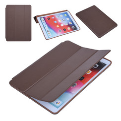 Apple iPad 10.2 2019 Book case Tablet Smart Case Brown for iPad 10.2 2019