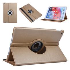 Apple iPad 10.2 2019 Goud Book Case Tablethoes Draaibaar