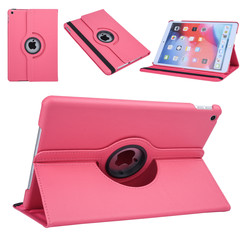Apple iPad 10.2 2019 Hot Pink Book case Tablet - Rotatable