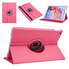 Apple iPad 10.2 2019 Hot Pink Book Case Tablethoes Draaibaar