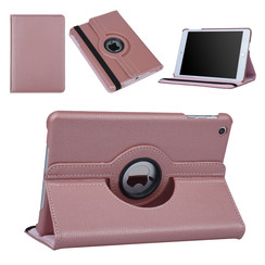 Apple iPad Mini 2 Rose Or Tablet Housse Rotatif