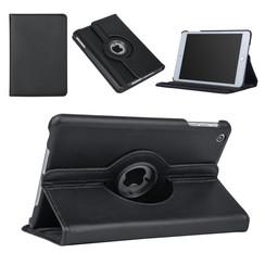 Apple iPad Mini 2 Zwart Book Case Tablethoes Draaibaar