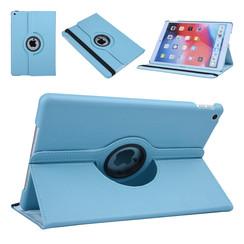 Apple iPad 10.2 2019 Blauw Book Case Tablethoes Draaibaar