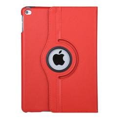 """Apple Ipad 9.7"""" 2018 & iPad Air Rood Book Case Tablethoes Draaibaar"""