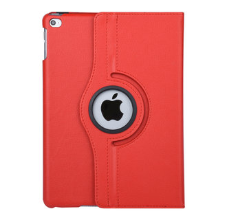 "Apple Ipad 9.7"" 2018 & iPad Air Red Book case Tablet - Rotatable"