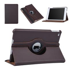 Apple Ipad Mini 4 Tablet Housse Rotatif Marron