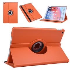Apple iPad 10.2 2019 Oranje Book Case Tablethoes Draaibaar