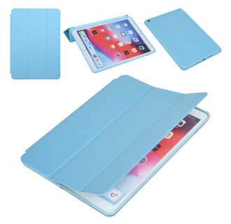 Apple iPad 10.2 2019 Blauw Book Case Tablethoes Smart Case