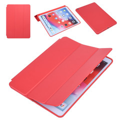 Apple iPad 10.2 2019 Rood Book Case Tablethoes Smart Case