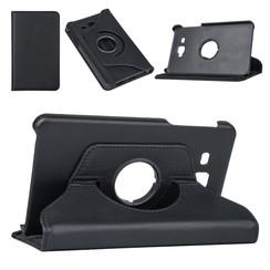 Samsung Tab A 7.0 2016 Tablet Housse Rotatif Noir