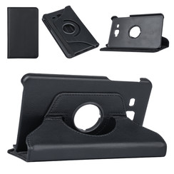 Samsung Tab A 7.0 2016 Zwart Book Case Tablethoes Draaibaar