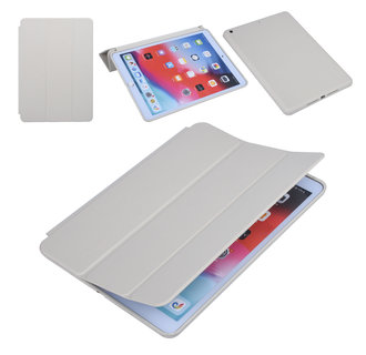Apple iPad 10.2 2019 Grijs Book Case Tablethoes Smart Case