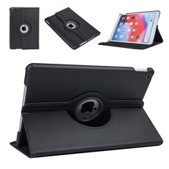Apple iPad 10.2 2019 Book case Tablet Rotatable Black for iPad 10.2 2019
