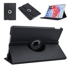 Apple iPad 10.2 2019 Zwart Book Case Tablethoes Draaibaar