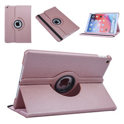 Apple iPad 10.2 2019 Rose Gold Book case Tablet - Rotatable