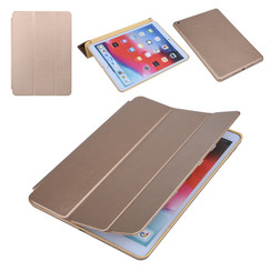 Apple iPad 10.2 2019 Goud Book Case Tablethoes Smart Case