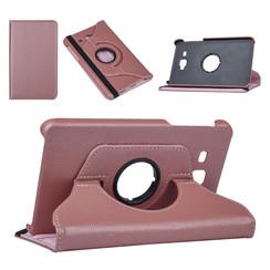 Samsung Tab A 7.0 2016 Rose Gold Book Case Tablethoes Draaibaar - Kunstleer