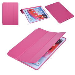 Apple iPad 10.2 2019 Hot Pink Book case Tablet - Smart Case