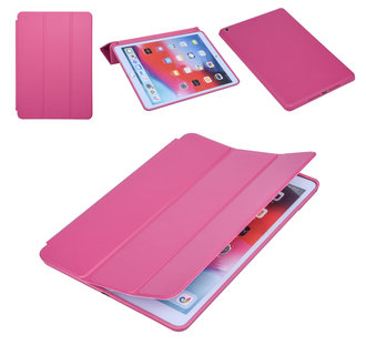 Apple iPad 10.2 2019 Hot Pink Book Case Tablethoes Smart Case