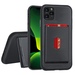 Apple iPhone 11 Pro Max Back cover case Card holder Black for iPhone 11 Pro Max