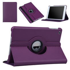 Apple iPad Mini 2 Book case Tablet Rotatable Purple for iPad Mini 2