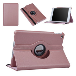Apple Ipad Mini 4 Book case Tablet Rotatable Rose Gold for Ipad Mini 4