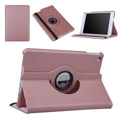 Apple Ipad Mini 4 Rose Or Tablet Housse Rotatif