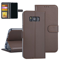 Samsung Galaxy S8 Book type case Card holder Brown for Galaxy S8