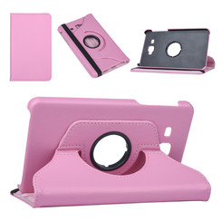 Samsung Tab A 7.0 2016 Book case Tablet Rotatable Pink for Tab A 7.0 2016