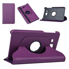 Samsung Tab A 7.0 2016 Book case Tablet Rotatable Purple for Tab A 7.0 2016