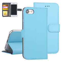 Apple iPhone 7/8 Book type case Card holder Blue for iPhone 7/8