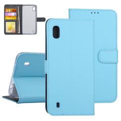 Samsung Galaxy A10 Blauw Booktype hoesje Pasjeshouder