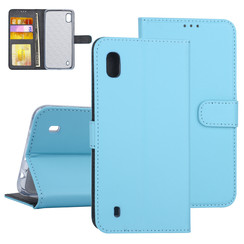 Samsung Galaxy A10 Blue Book type case - Card holder