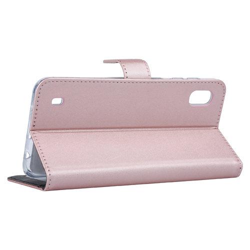Andere merken Samsung Galaxy A10 Book-Case hul Rose Gold - Kartenhalter
