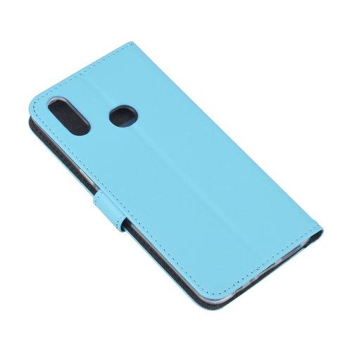 Andere merken Samsung Galaxy A10s Book-Case hul Blau Kartenhalter - Kunstleer