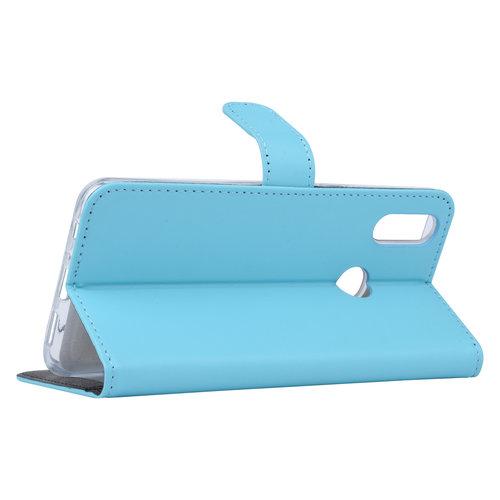 Andere merken Samsung Galaxy A10s Book type housse Titulaire de la carte Bleu